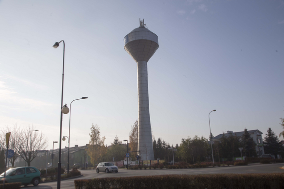 Słupca - wieża ciśnień